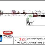 Automatinė 100ML-5L riebalų užpildymo linija