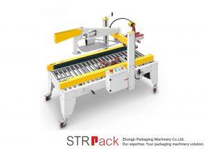 Automatinis lipnios juostos atvartų lankstymo dėžės dėžutės sandarinimo mašina