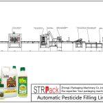 Automatinė pesticidų užpildymo linija