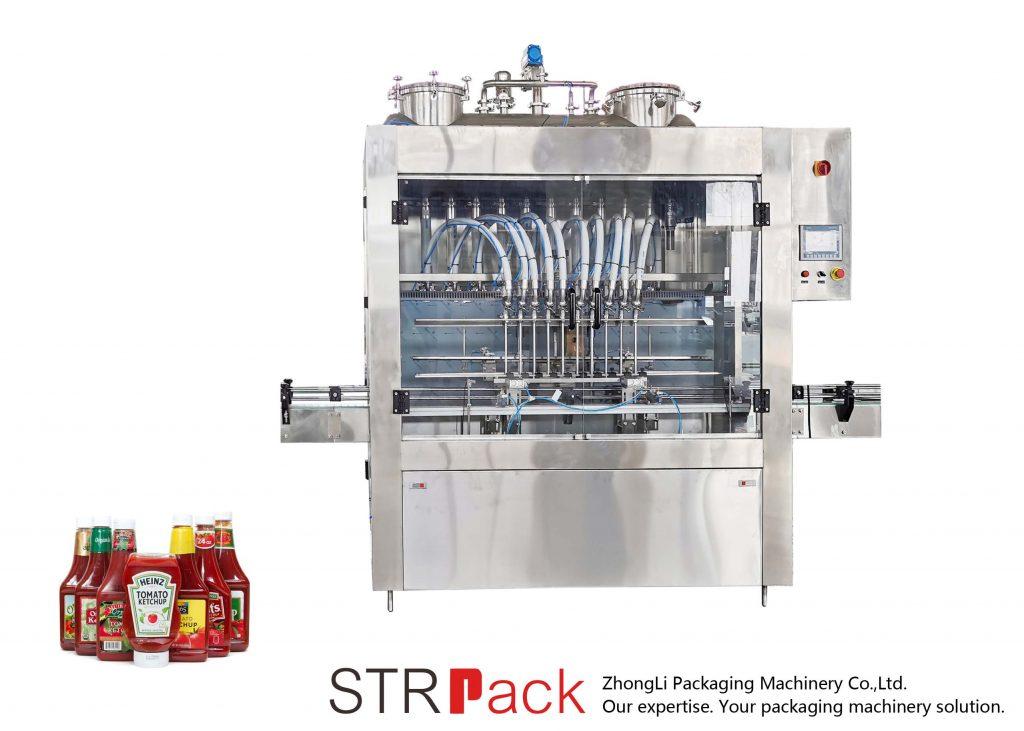 Automatinis padažų užpildymo įrenginys STRFP
