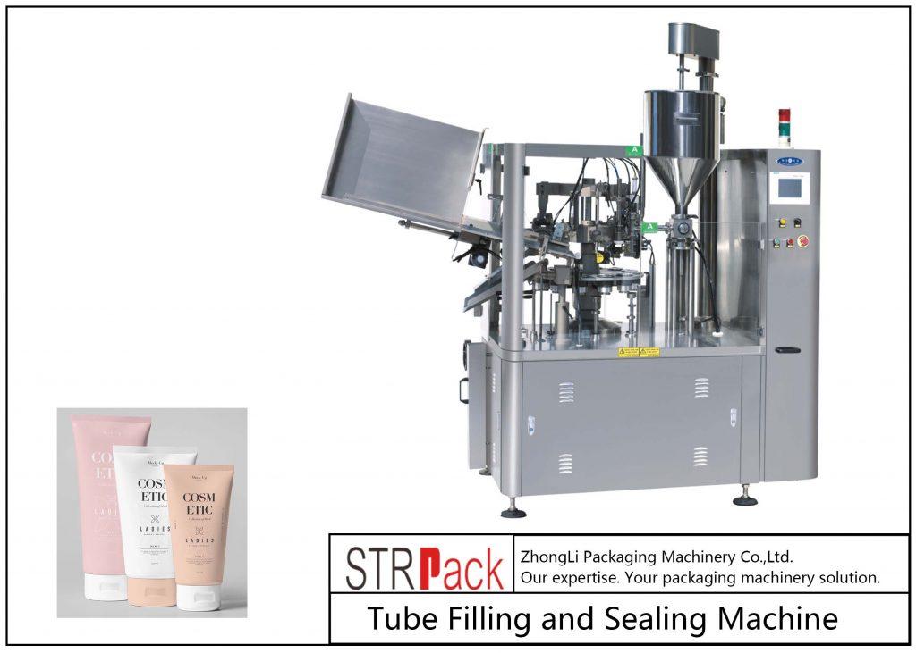SFS-100 plastikinių vamzdžių užpildymo ir sandarinimo mašina