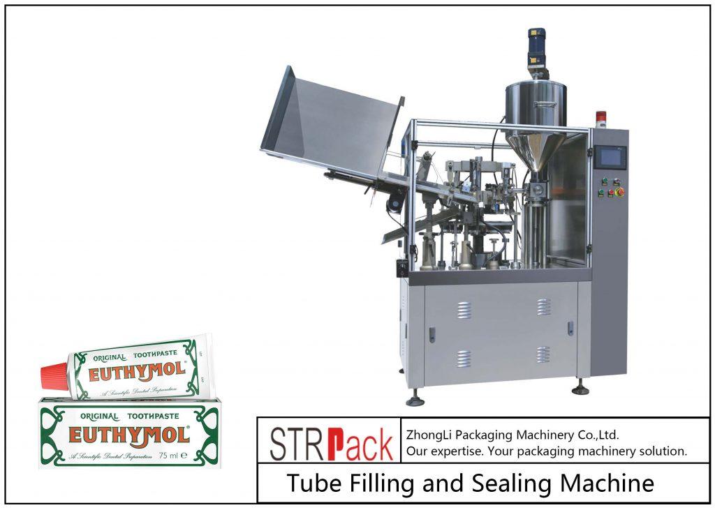 SFS-60Z metalinių vamzdžių užpildymo ir sandarinimo mašina