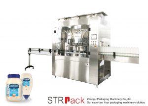 STRRP rotoriaus siurblio užpildymo mašina
